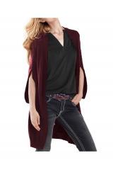 Dlouhý pletený návrhářský svetr Rick Cardona