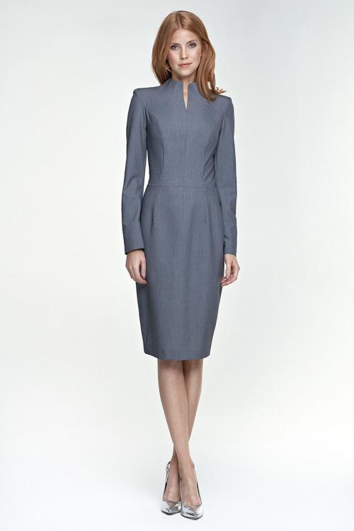 Pouzdrové šaty NIFE, kolekce podzim/zima (vel.42 skladem)