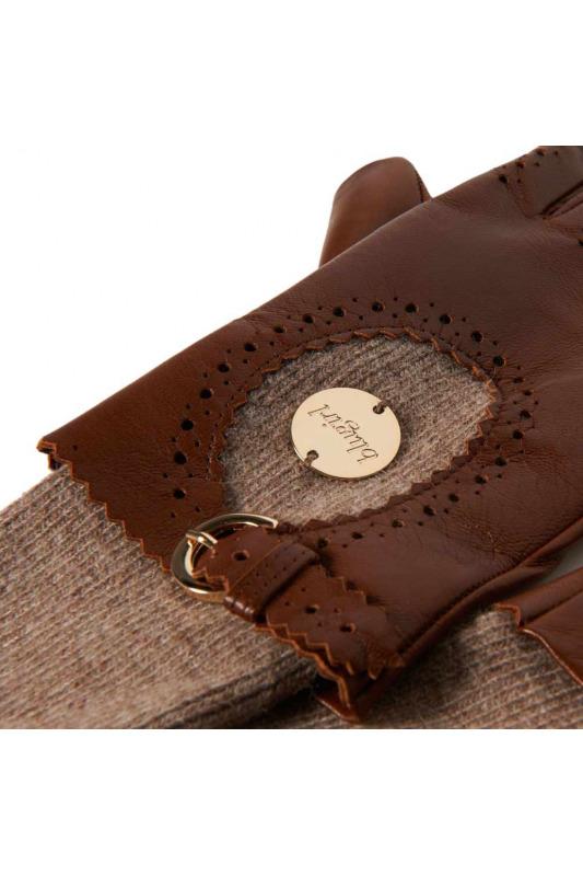 M skladem) · Kožené značkové dámské rukavice Blugirl (vel.M skladem) 0494496a80