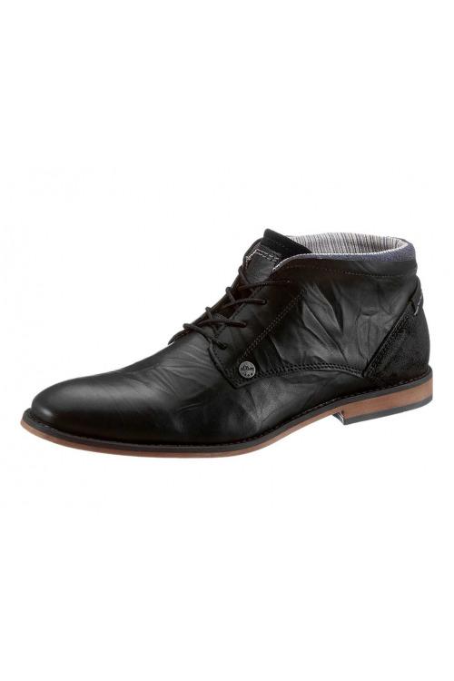 Pánské kožené šněrovací boty, pánská obuv S.Oliver levně (vel.44 skladem)