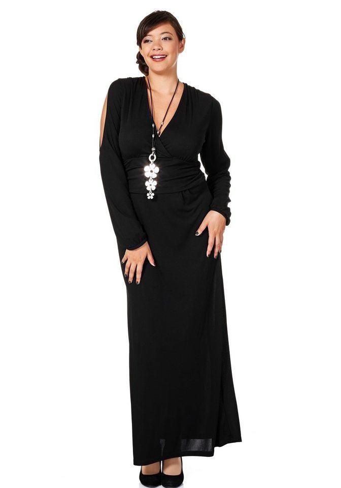 Dlouhé šaty pro plnoštíhlé 5eca5ba22b3