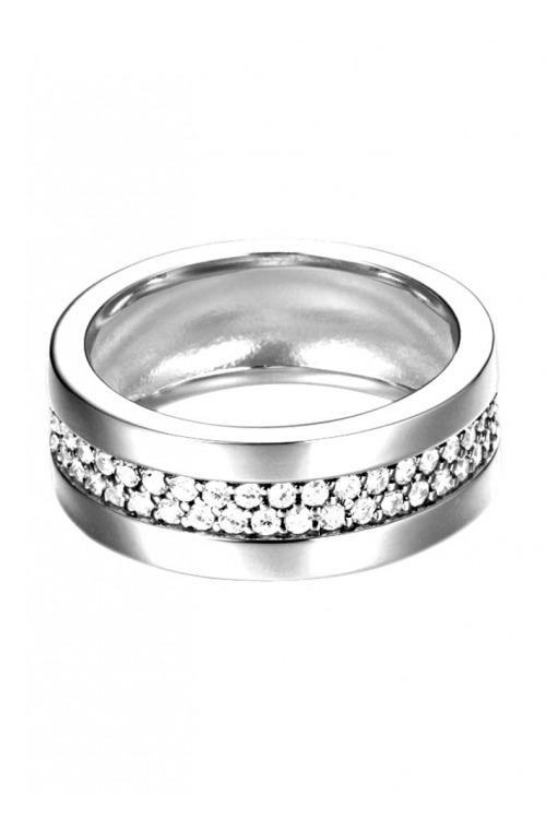 Stříbrný prsten se zirkony ESPRIT (1 ks skladem)