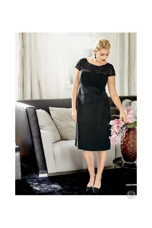 Černé krajkové šaty (vel.44,50 skladem)