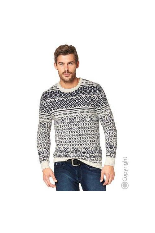 RHODE ISLAND teplý pánský svetr (vel.XXL skladem)