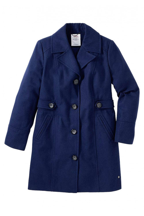 S.Oliver, krátký modrý kabát (vel.40,54 skladem)