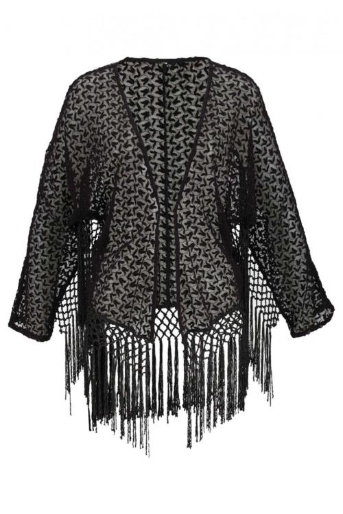Krajkové kimono Aniston
