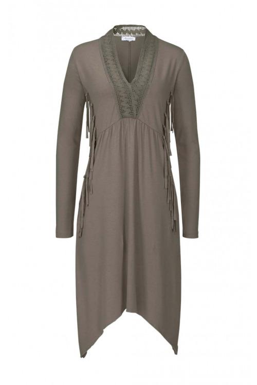 Šaty s třásněmi ANISTON