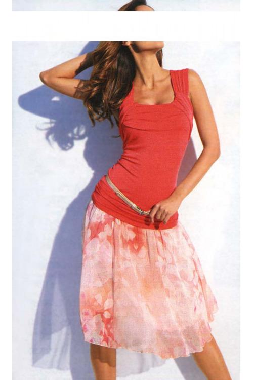 Letní šifonová sukně, Heine
