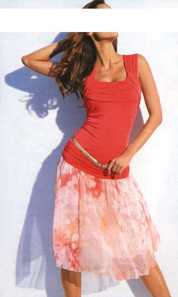 7bed7d9eee2 Letní šifonová sukně