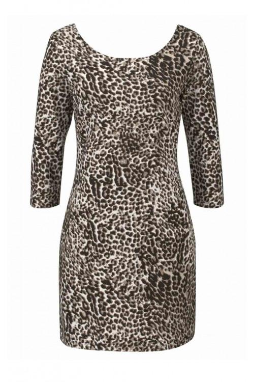 Šaty TAMARIS s leopardím vzorem (vel.34 skladem)