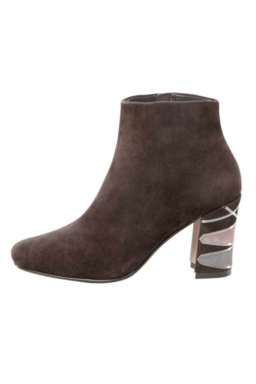 Kotníkové podzimní boty, dámská obuv levně, Nina New York