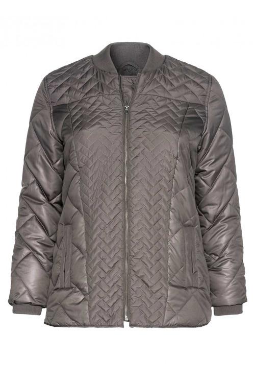Teplá zimní bunda pro plnoštíhlé, SHEEGO (vel.48 skladem)