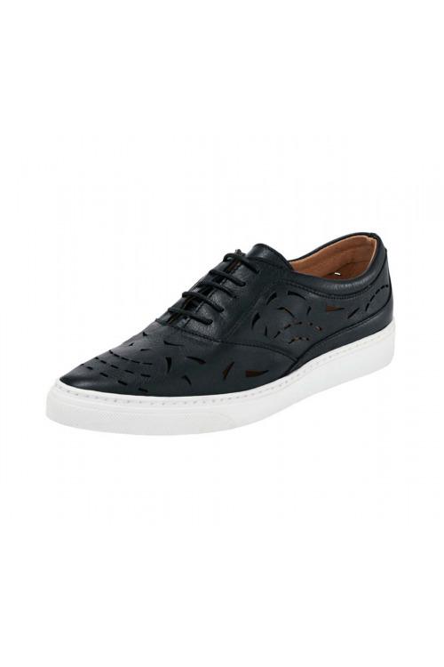 Šněrovací boty, černá dámská obuv HEINE