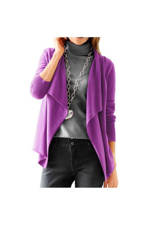 Kašmírový svetr, HEINE pletený svetr čistý kašmír (vel.40/42 skladem)
