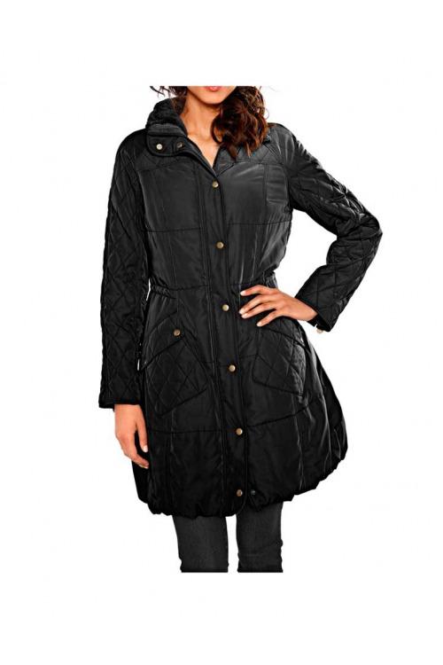 Prošívaný kabát s teplou podšívkou, HEINE