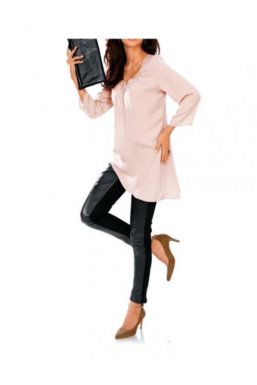 Hedvábná tunika, Ashley Brooke tunika z hedvábí také pro plnoštíhlé (vel.34,42 skladem)