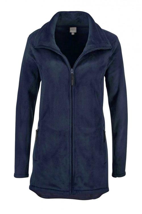BENCH, delší dámská fleecová bunda