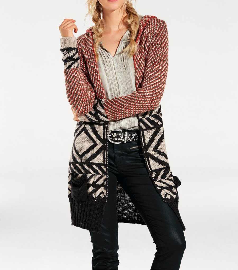7dba59b4f32 Dlouhý pletený svetr