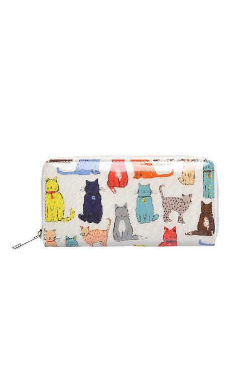 Ideální dárek, dámská peněženka s kočičkami, Kaytie Wu (1 ks skladem)