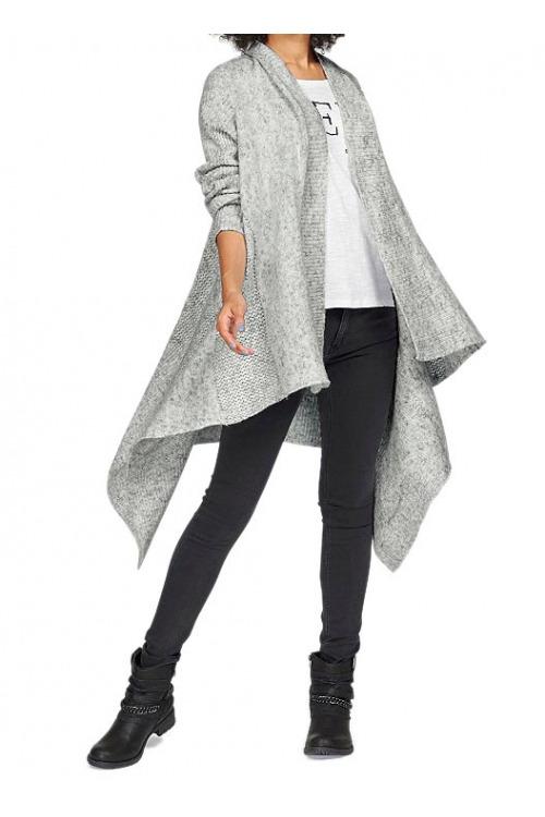 Garcia, pletený svetr, pletený dámský plášť (vel.XL skladem)