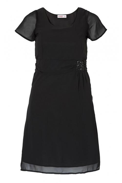 Koktejlové šaty pro plnoštíhlé, sváteční šaty nadměrné velikosti, SHEEGO