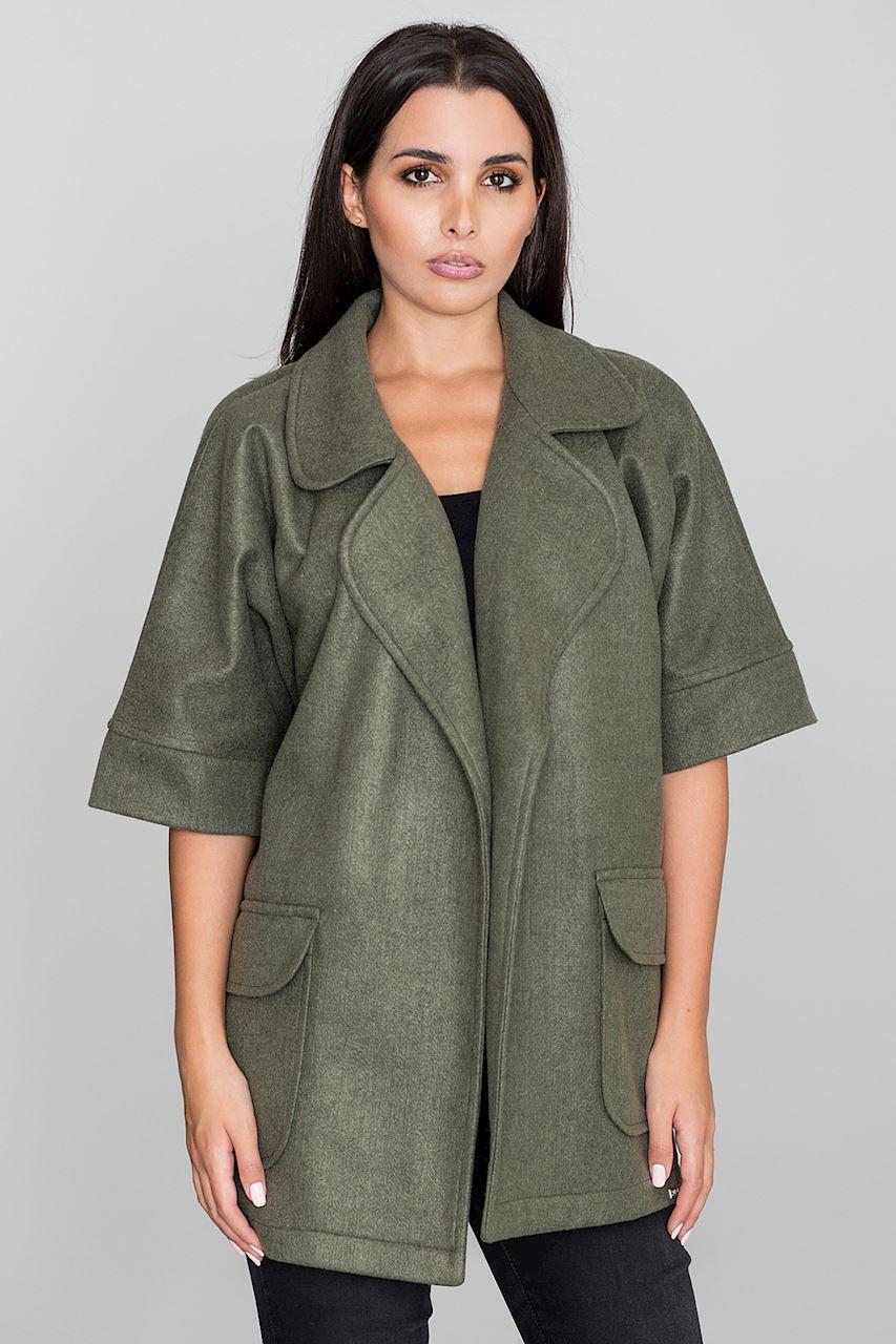 fba97f494f Krátký dámský kabát FIGL. Loading zoom