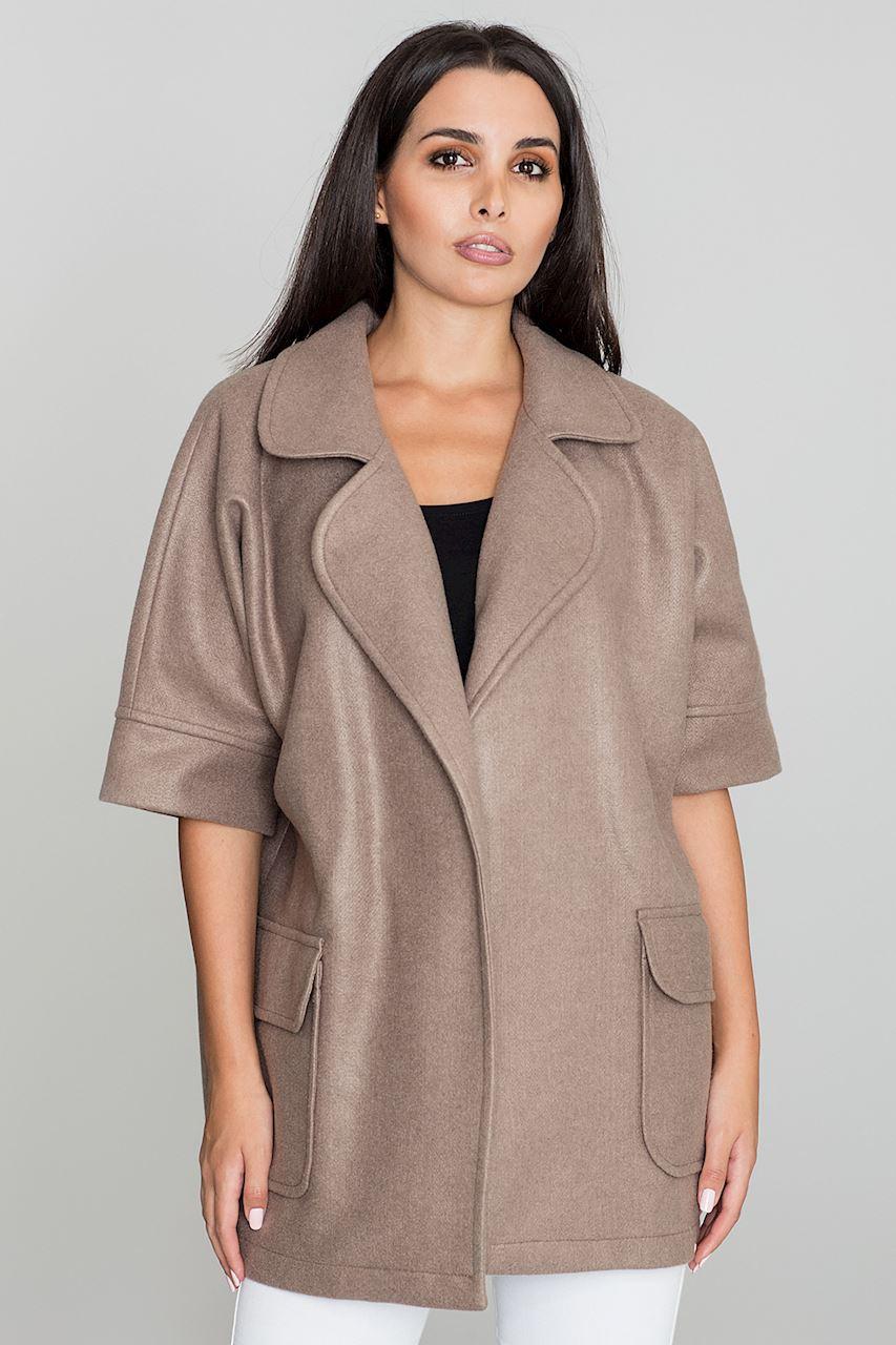 Krátký dámský kabát FIGL 15ac4709ffc