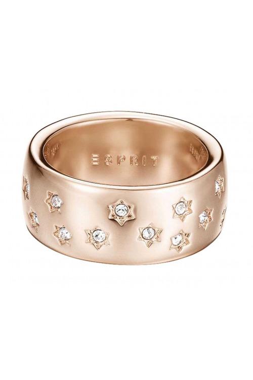 Pozlacený prsten se štrasem, kroužek ESPRIT (1 ks skladem)