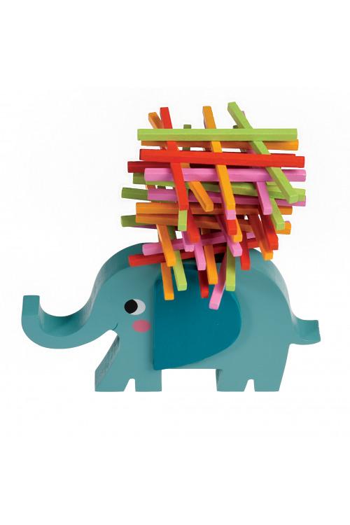 Dřevěná hra slon ...