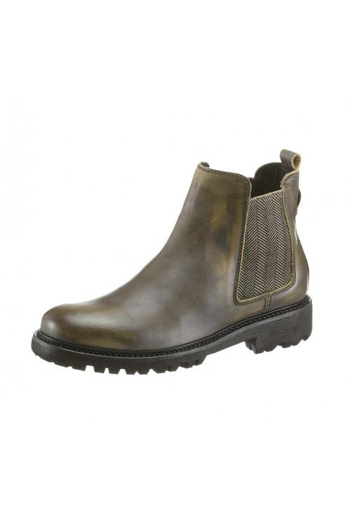 51cd6aab9f Značkové dámské kožené boty chelsea