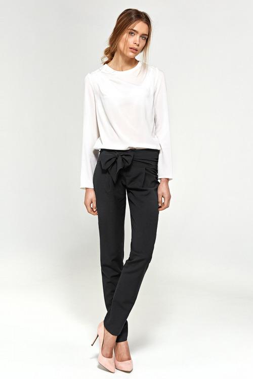Kalhoty NIFE s mašlí na bocích