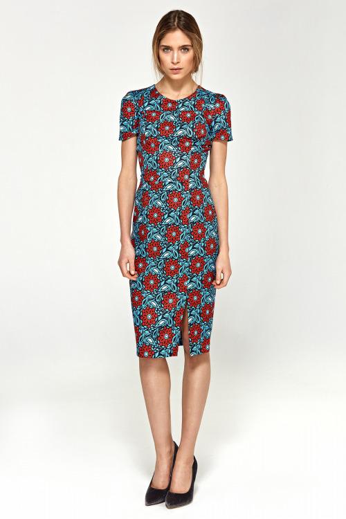Šaty s krátkým rukávem NIFE (vel.42 skladem)