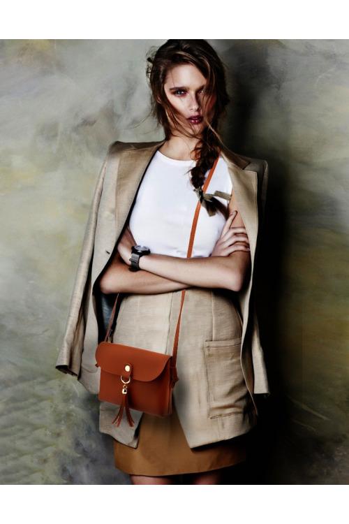 Malá kabelka přes rameno, dívčí kabelka Anna Grace (1 ks skladem)