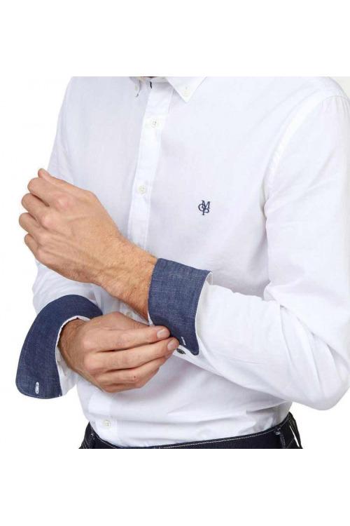 Marc O´Polo značková bílá pánská košile (vel.XXL skladem)