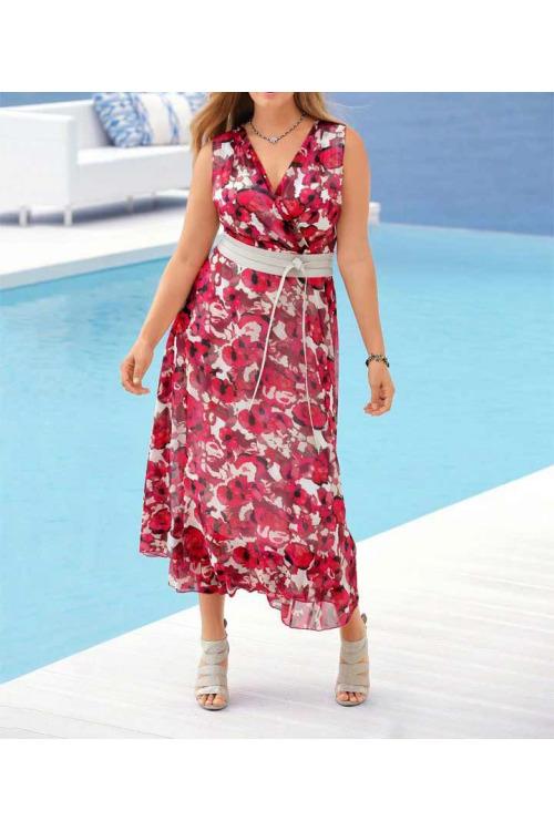 Delší letní šaty s potiskem, Guido Maria Kretschmer