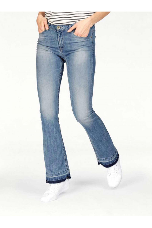 Garcia, zvonové rifle, rifle do zvonu, jeans s rozšířenými nohavicemi