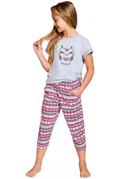 Dívčí pyžamo Beky sovička