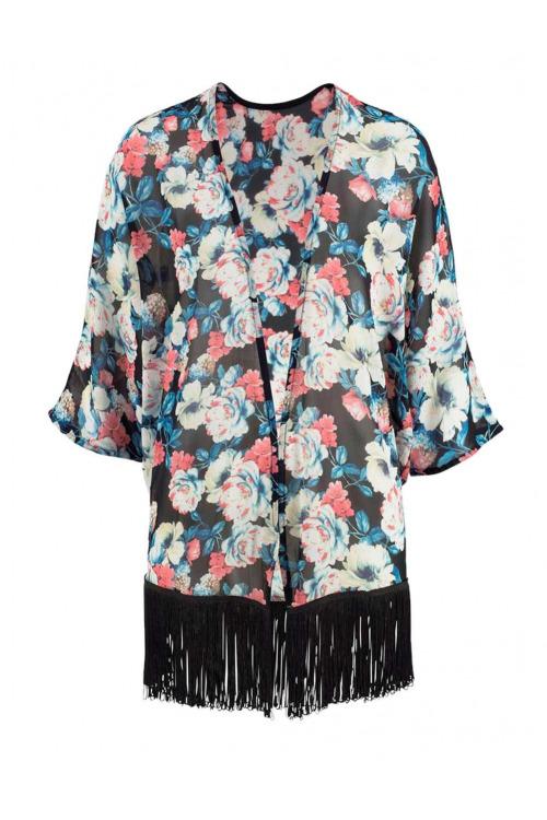 Kimonová halenka s třásněmi, Melrose