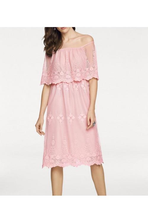 Jemné krajkové romantické šaty, Ashley Brooke