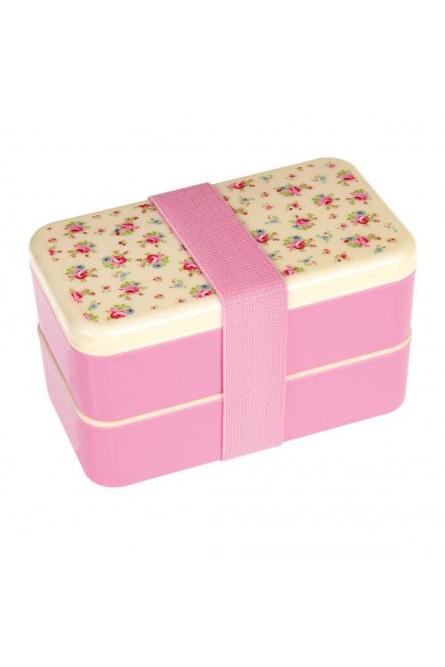 Bento box na potraviny pro dospělé, krabička na jídlo na výlety a na cesty, La petite rose (6 ks skladem)