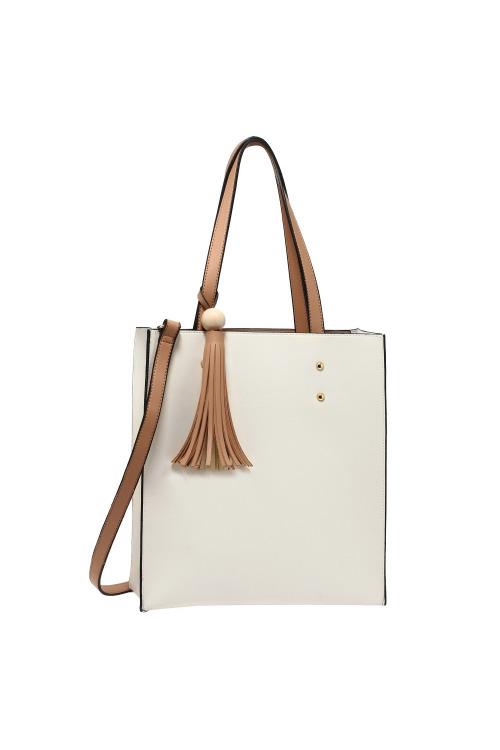 Dámská taška se střapcem