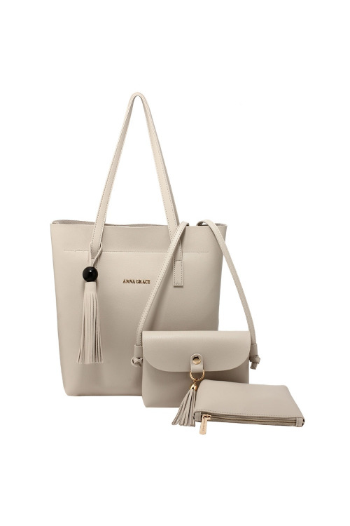 Dámská taška, trojdílná dámská kabelka (skladem 1 ks)