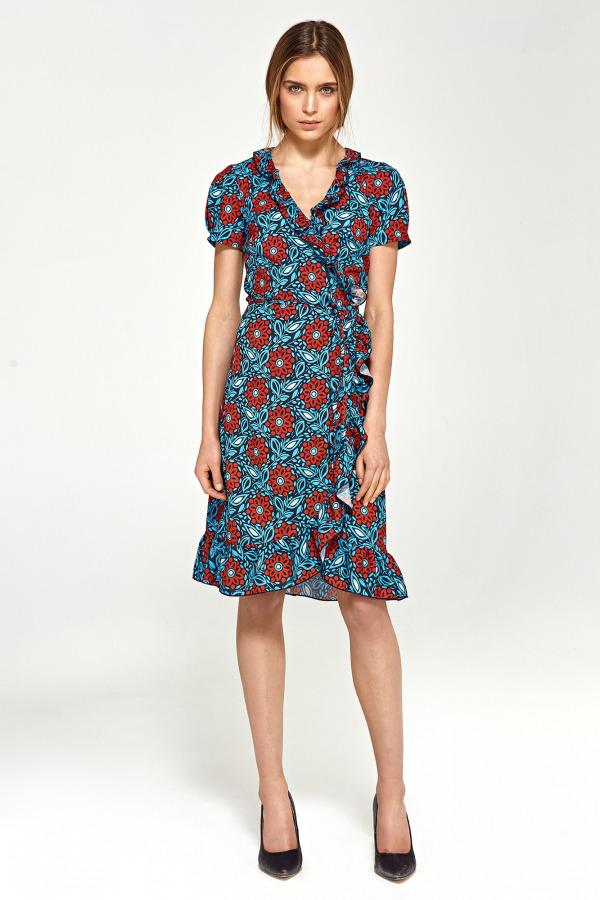 Vzorované šaty NIFE 01e0fe9c828