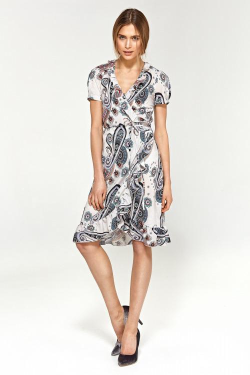 Vzorované šaty NIFE