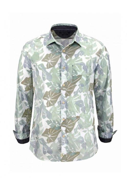 Marc O´Polo, značková pánská bavlněná košile se vzorem