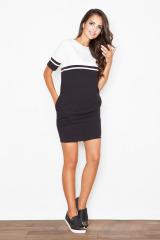 Sportovní elegance, šaty FIGL s kapsami (vel.XL/42 skladem)