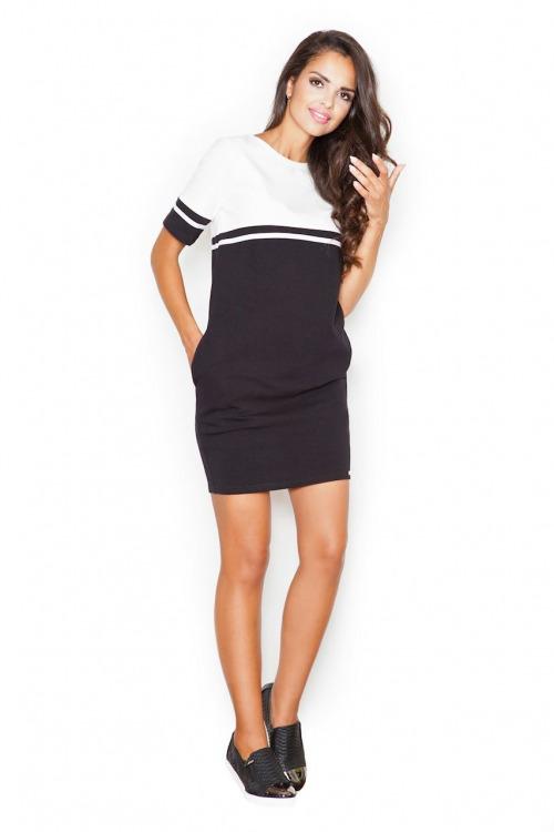 Sportovní elegance, šaty FIGL s kapsami
