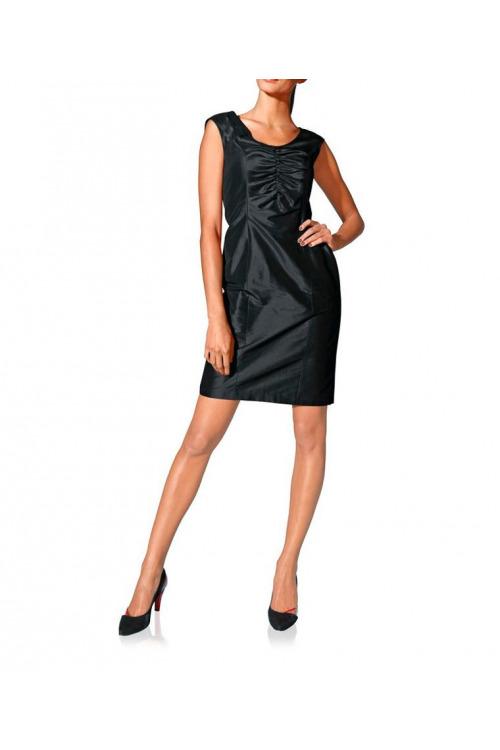 Luxusní hedvábné šaty S. Madan