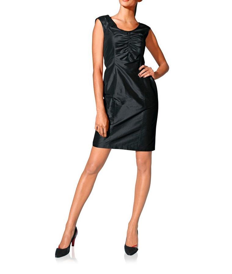 c29a9b609c1 Luxusní hedvábné šaty S. Madan
