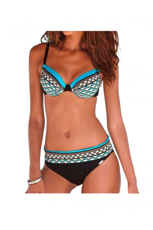 Dvoudílné plavky, plavky s kosticemi SUNFLAIR, košíček F